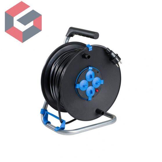Tambor de PVC con tapas 10118-9 para cable F3 G1.5
