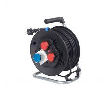 Tambor industrial de goma para cable F3 G1.5 40m