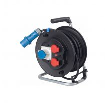 Tambor industrial de goma para cable F3 G2.5 25m