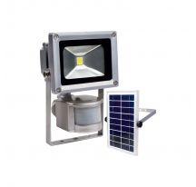 Foco solar 10-W AS con sensor de paso ref.46907