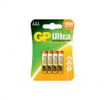 PILAS ULTRA ALCALINAS G001 AAA LR03 1.5V