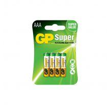 PILAS SUPER ALCALINAS G004 AAA LR03 1.5V