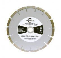 Disco cantero hormigón CGD H10 Z15 230 mm