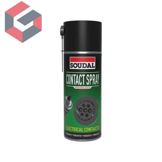 Limpiador de equipos eléctricos Soudal Contact Spray 400ml