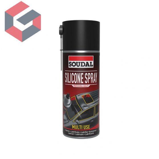 Silicona en aerosol Soudal 400ml