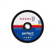 DISCO CORTE ACERO PERFECT DRONCO 180X3X22