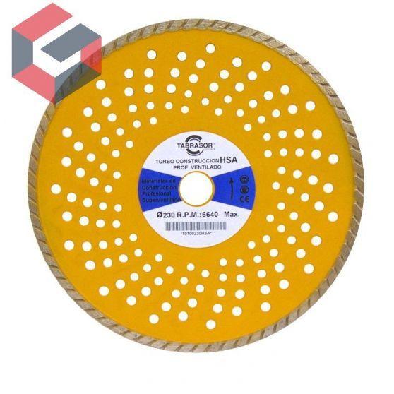 Disco turbo construcción ventilado perforado
