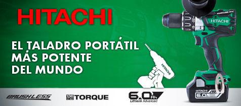 Taladro percutor a batería Hitachi DS18DBL2
